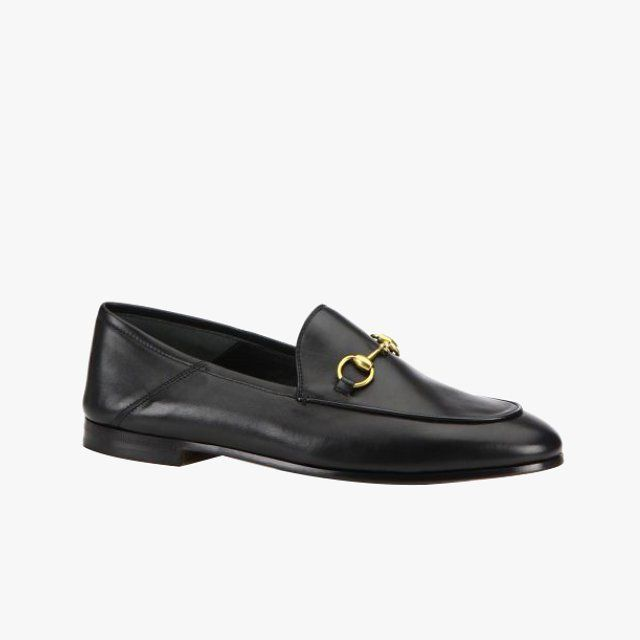 eac95ed303e GUCCI Brixton Snake Leather Loafers.  gucci  shoes  flats
