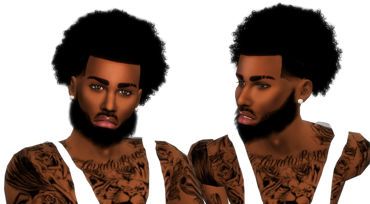 Small Curly Fro Male By Xxblacksims Sims 4 Black Hair Sims 4 Curly Hair Sims 4 Afro Hair