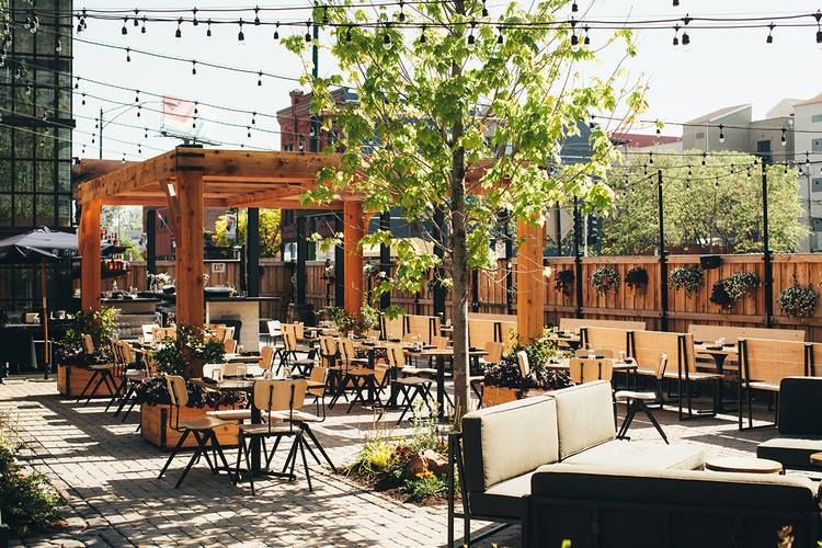 Awesome Outdoor Patio Of The Week: THE DAWSON   730 W. GRAND AVE #patioweather  #RiverWest #TheDawson