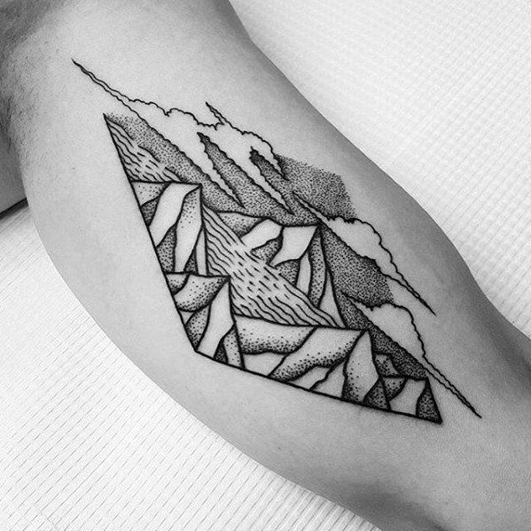 50 river tattoos for men flowing water ink ideas river for East river tattoo price