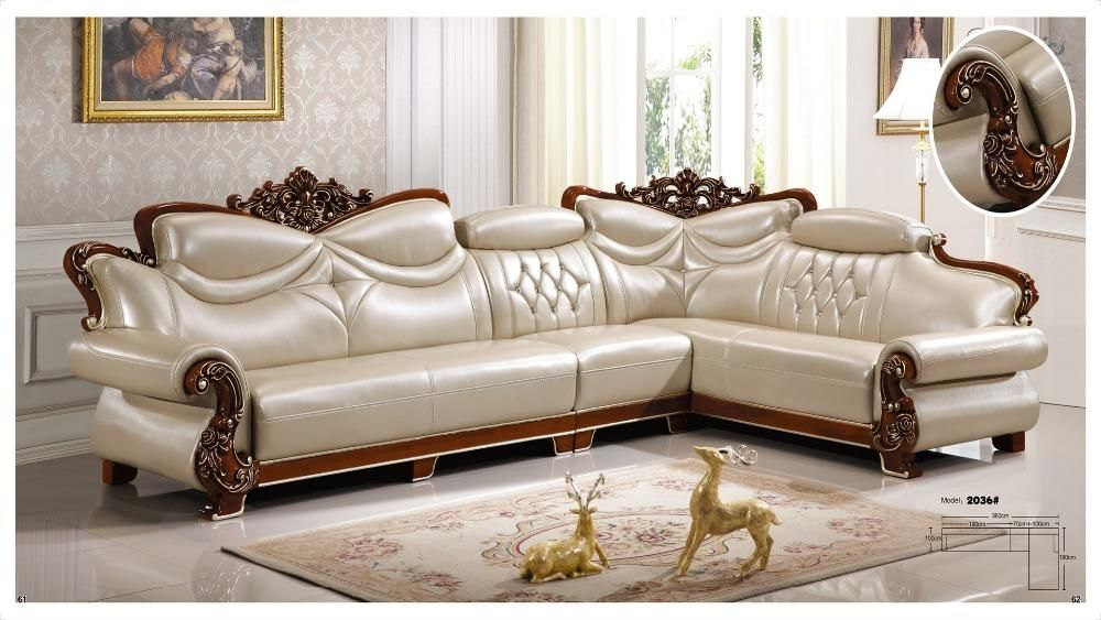 Iexcellent Designer Corner Sofa Bed European And American Style Sofa Recliner Italian Leat Living Room Sofa Italian Leather Sofa