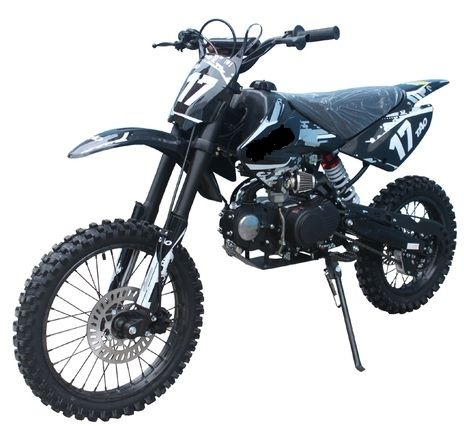 Jetmoto Db 17 Deluxe Dirt Pit Bike With Extra Large 17 Wheel