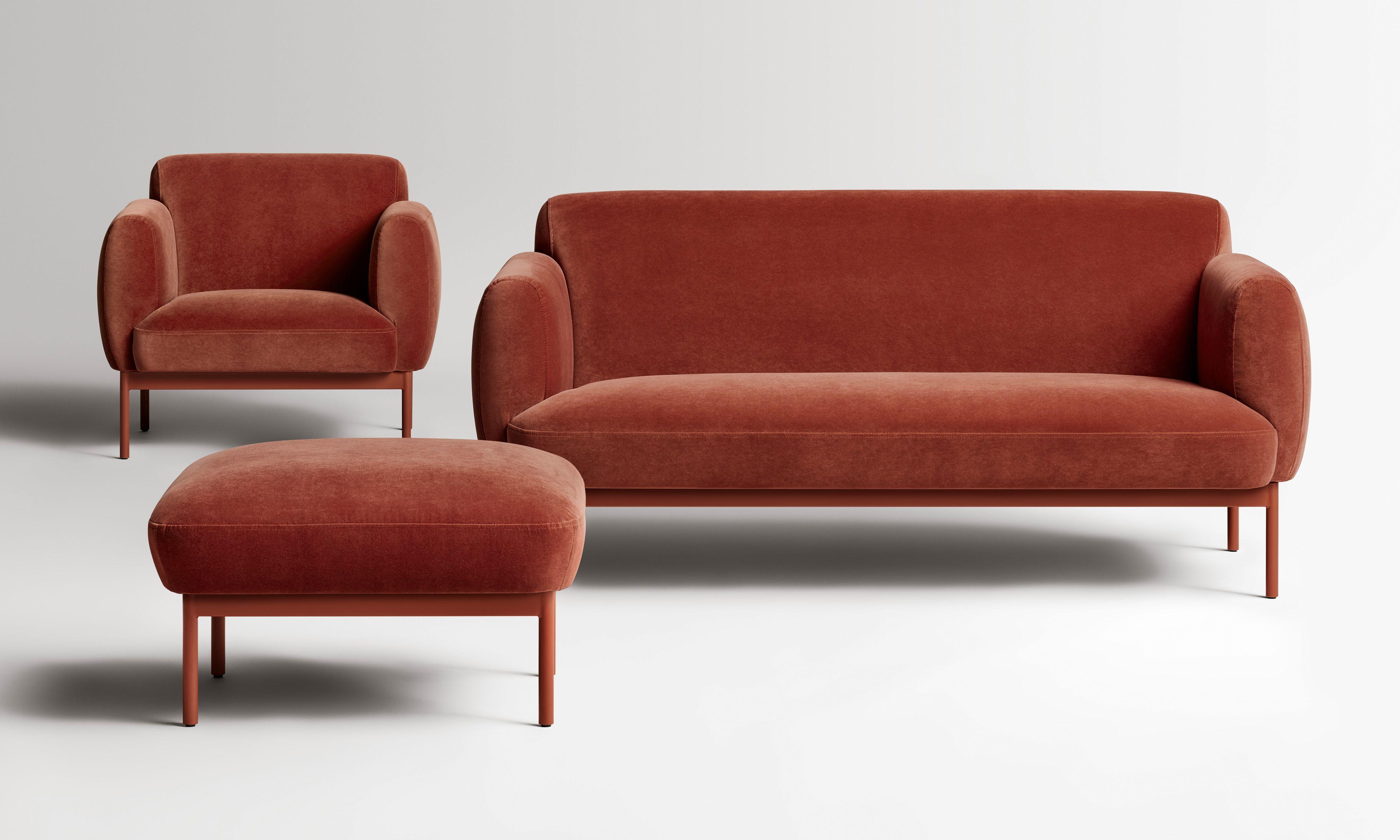 Puff Puff Velvet Lounge Chair Modern Velvet Sofa Velvet Sofa Velvet Lounge Chair