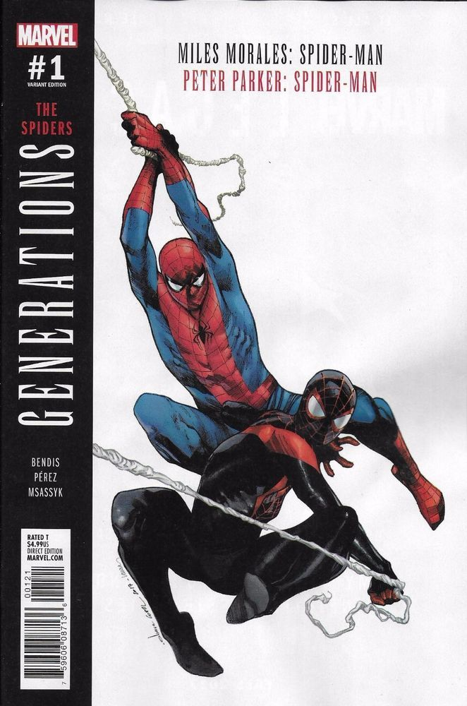Marvel Spider-Man Generations Peter Parker comic issue 1