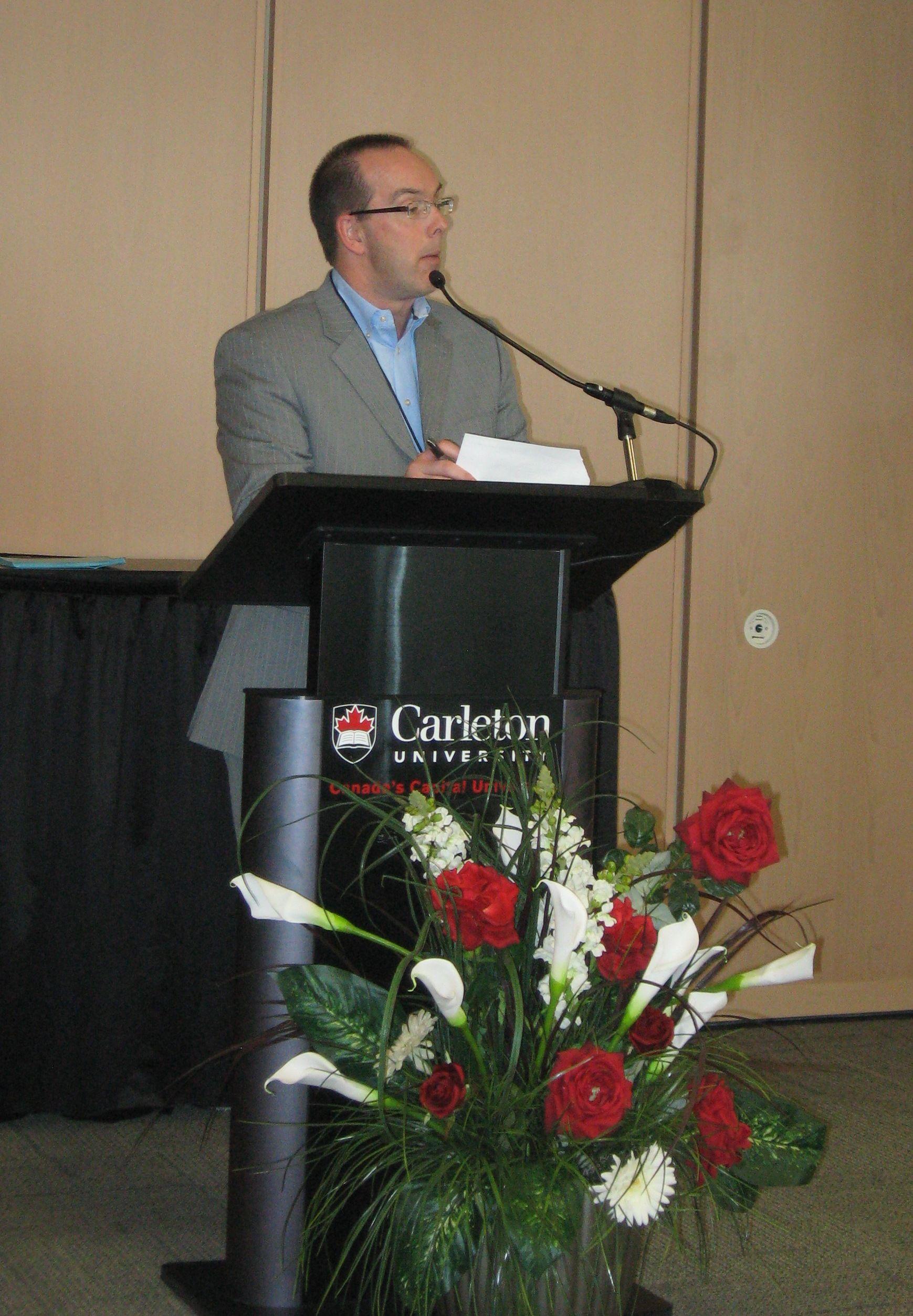 MPI Ottawa President, Markus Fisher Day, Ottawa