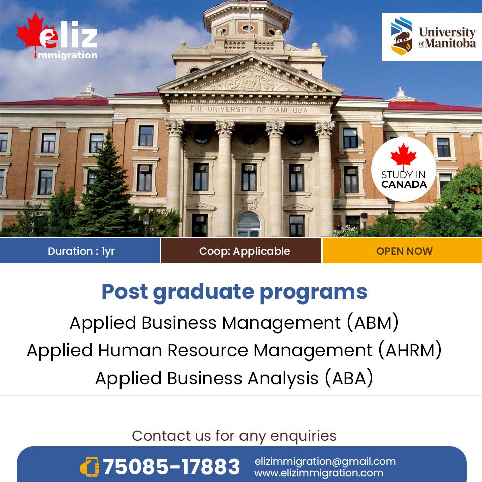University Of Manitoba Graduate Application Status