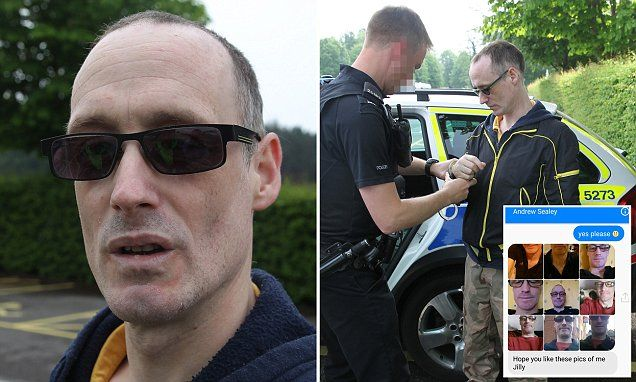 Married paedophile faces jail after vigilantes trapped him #DailyMail