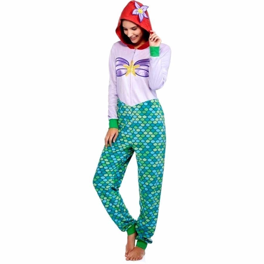 Ariel Little Mermaid Disney One Piece Union Suit Onesie Pajamas SZ 2X Womens   Disney  Onesie  Everyday 5f823c3dd