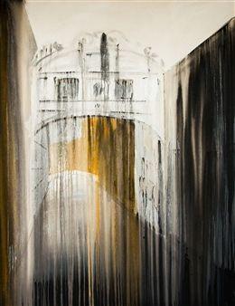 "Claudia Etcheverrito, ""Ponte dei Sospiri"" | Acrylic on Canvas | $4,000 | Source: http://www.art-mine.com/artistpage/claudia_etcheverrito.aspx | Agora Gallery | Contemporary Fine Art | NYC, NY"