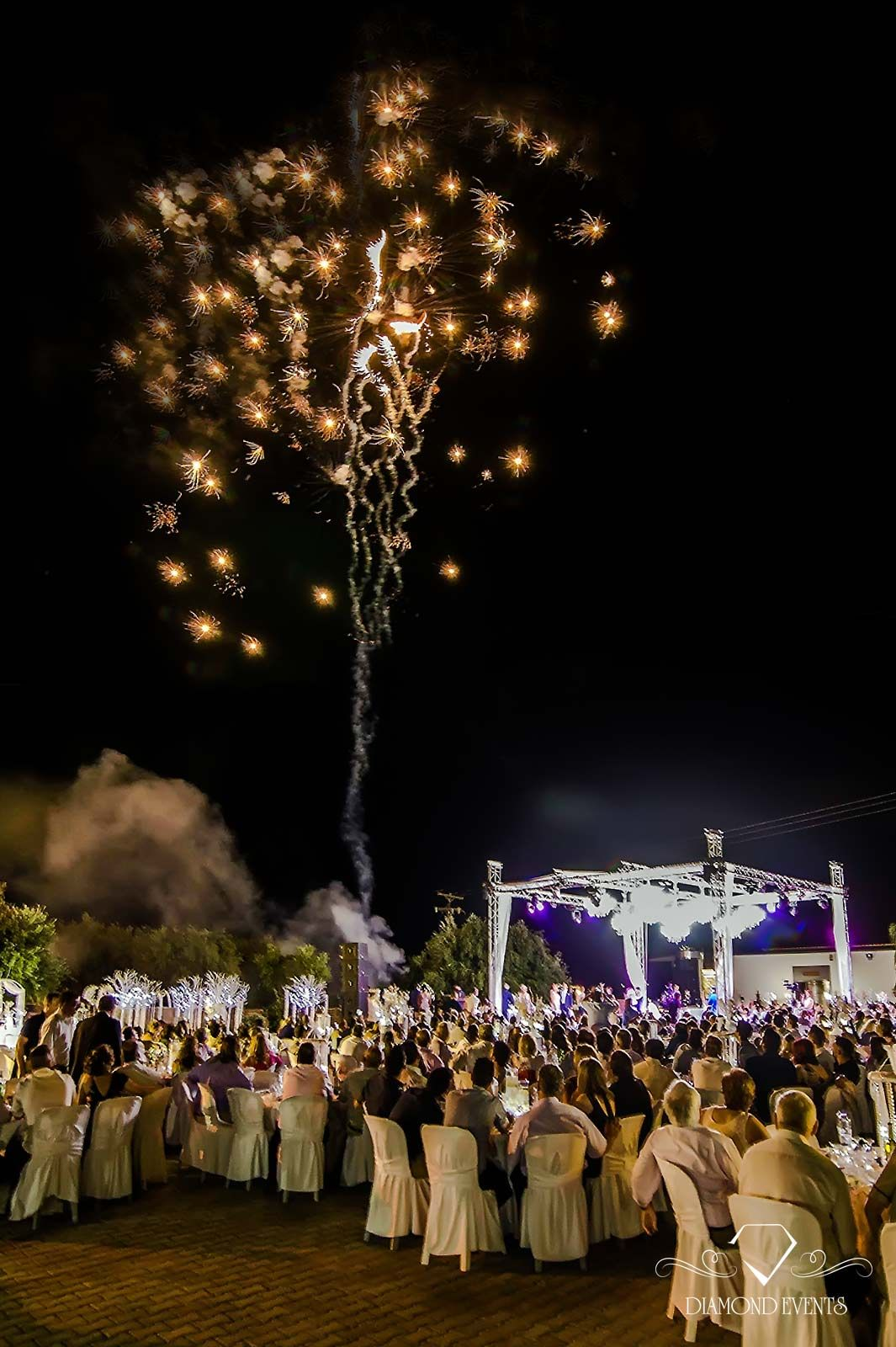 Wedding Fireworks Come In All Shapes And Sizes Greece