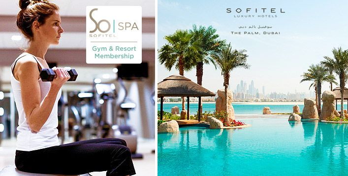 Get a one day spa access or massage at So SPA or enjoy a healthier lifestyle with a one month Gym or Resort membership at So FIT, Sofitel Dubai The Palm. Four options available starting from AED 139