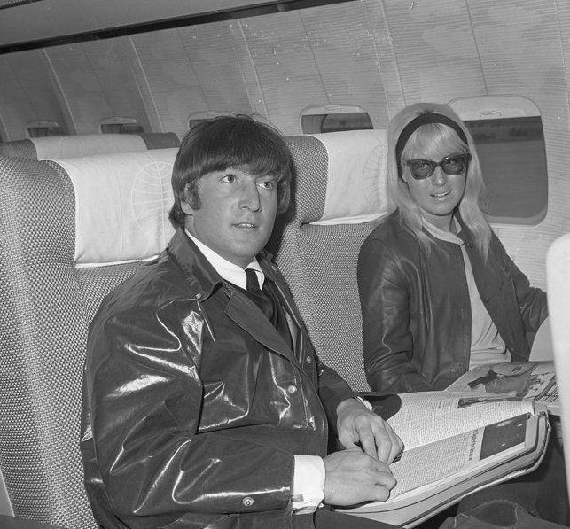 John Lennon And Cynthia Wedding Really Tan Cyn