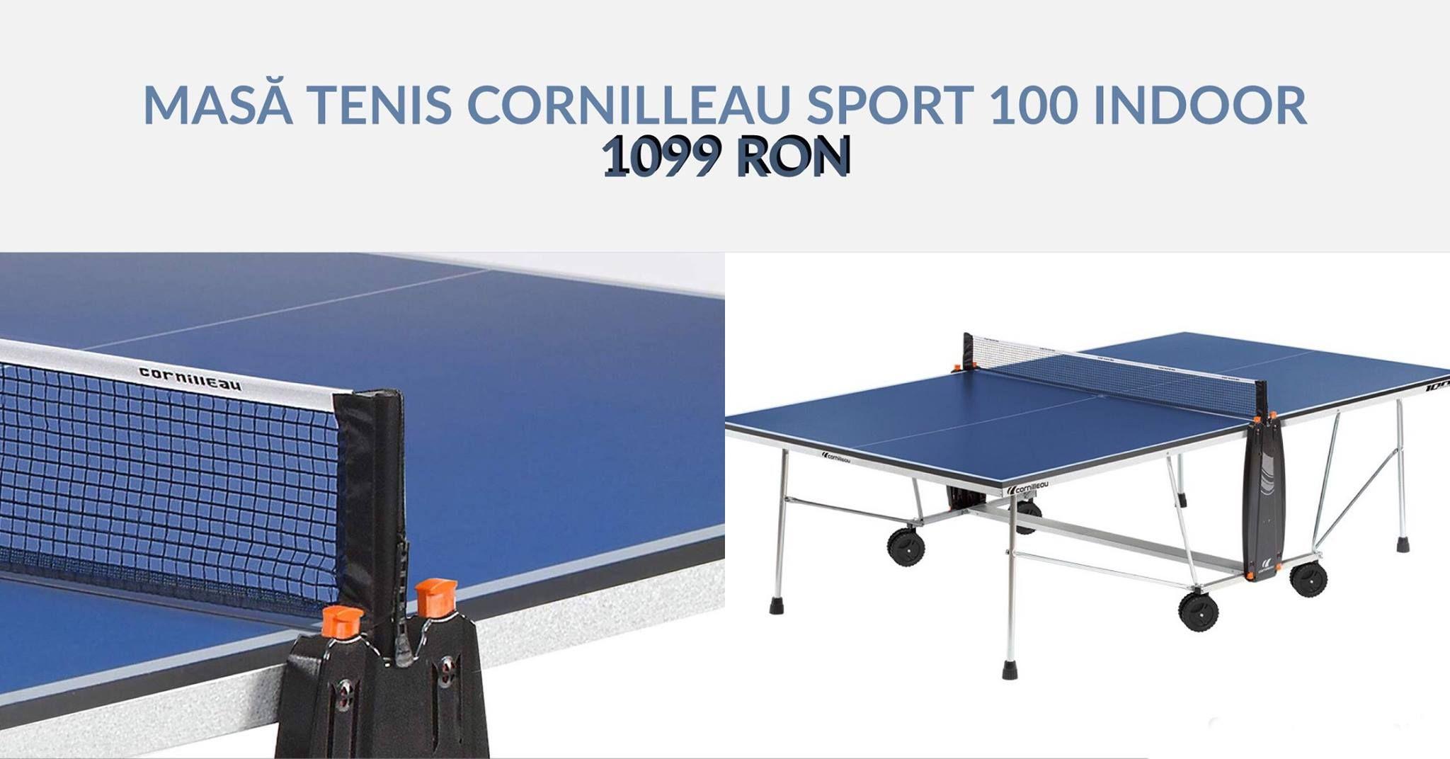 masa tenis cornilleau sport 100 indoor discount 15 mese tenis