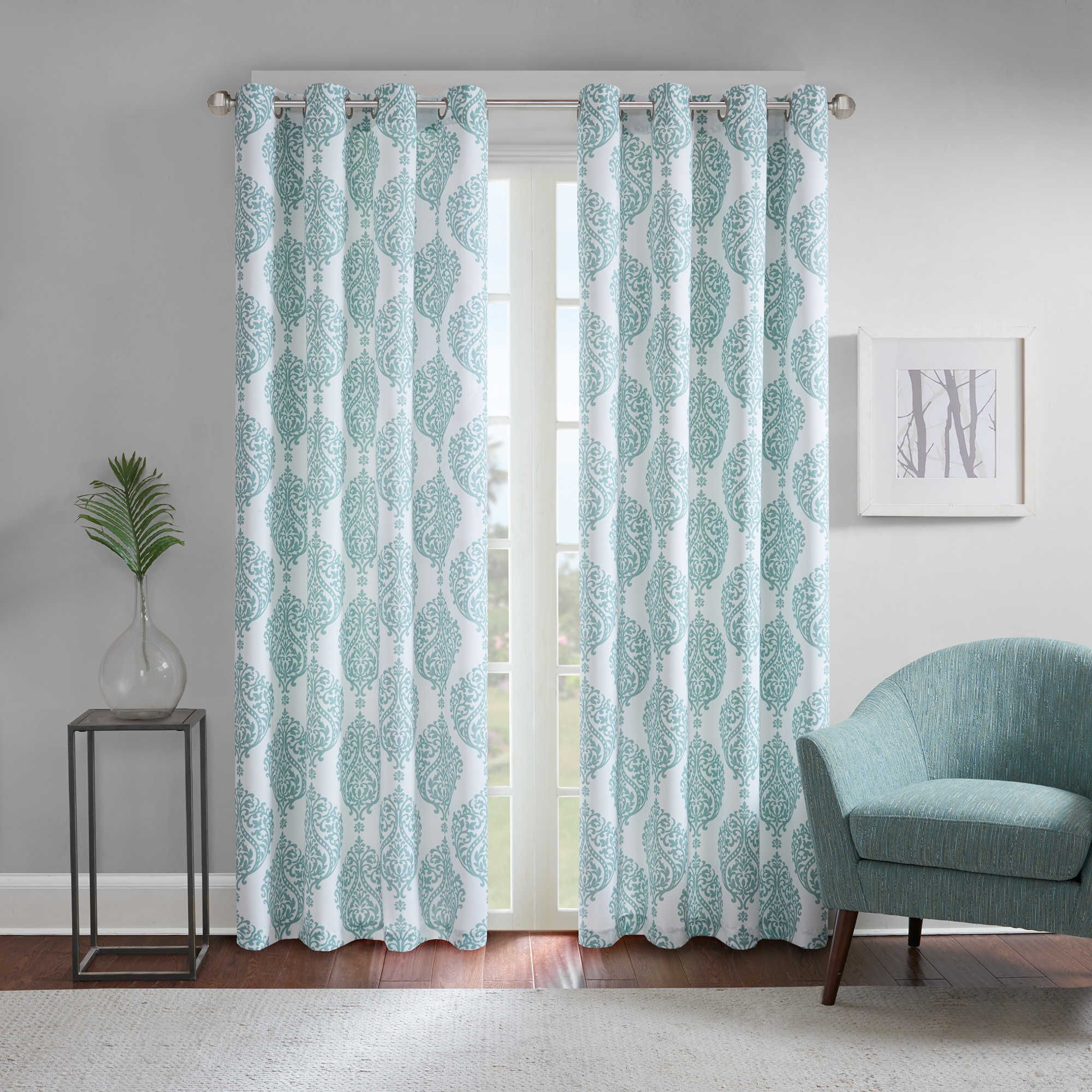 Regency Heights® Zion Grommet Top Room Darkening Window Curtain ...