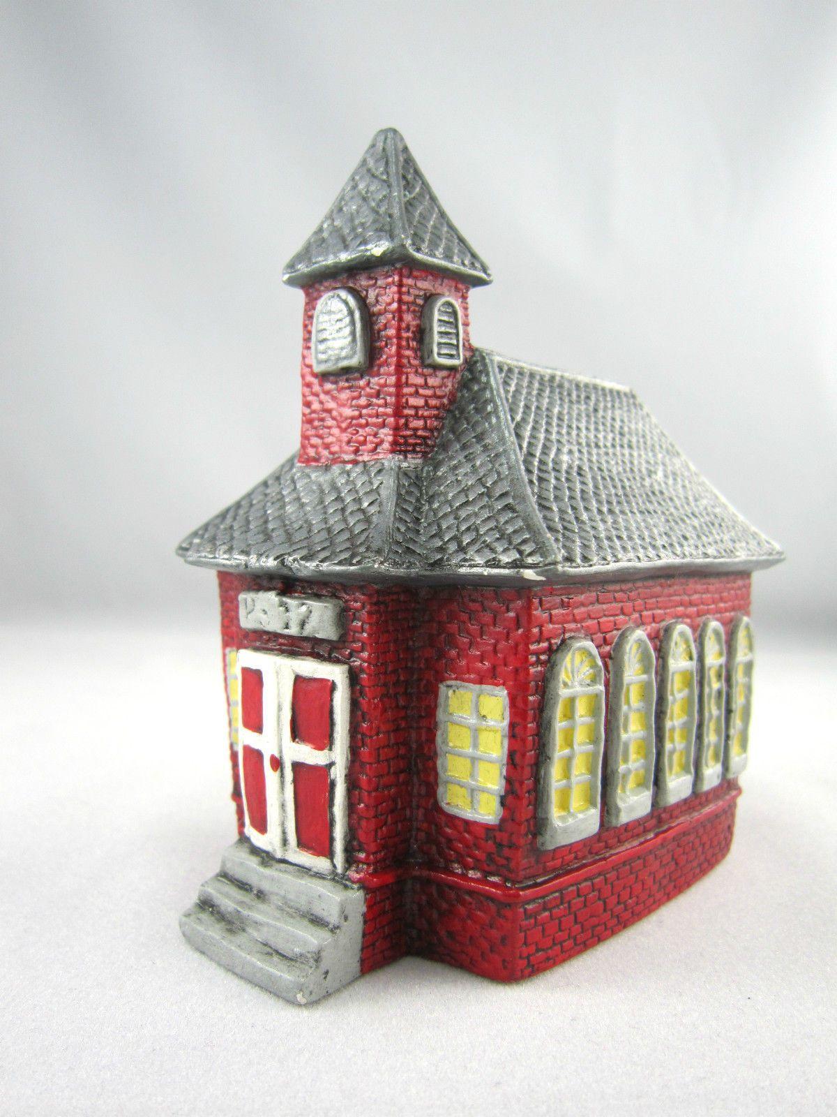 Vintage1980s Christmas Village Church House Ceramic Usa