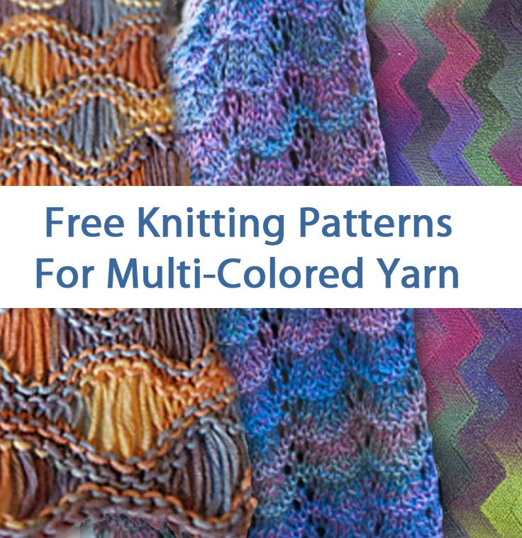 Free Knitting Patterns For Multi Colored Yarn At Http