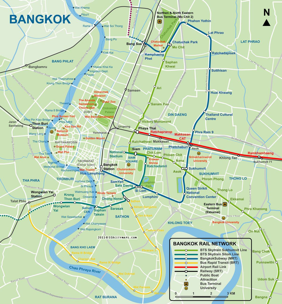 Map of Bangkok City Centre SEACitymapscom bangkok Pinterest