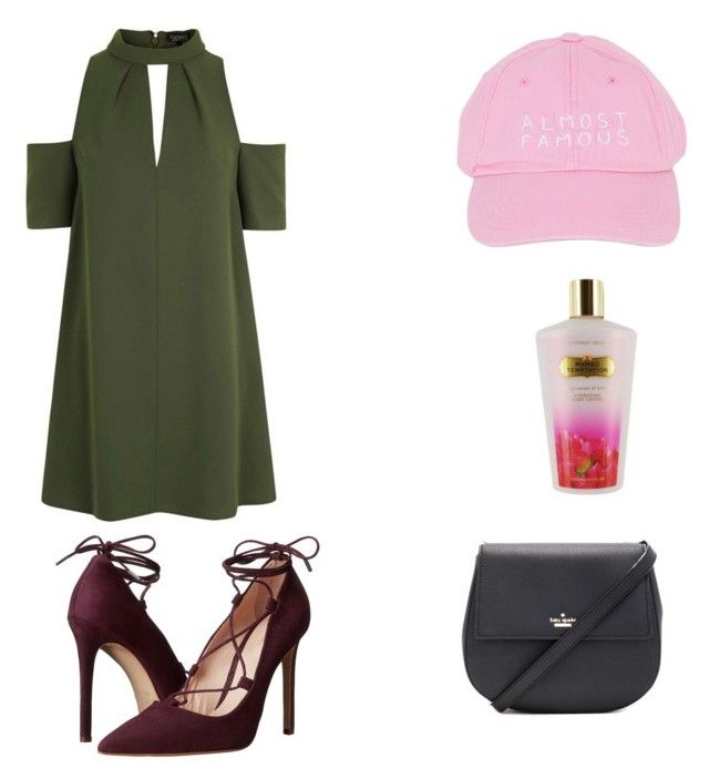 """""""Untitled #32"""" by alainabethel on Polyvore featuring Topshop, Nasaseasons, Victoria's Secret, Massimo Matteo and Kate Spade"""