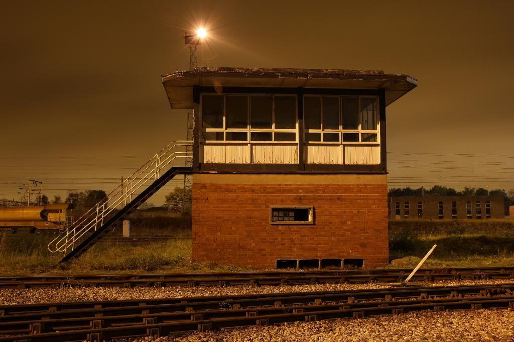 Bescot Up Sidings Signal Box Siding, Old train, Train tracks