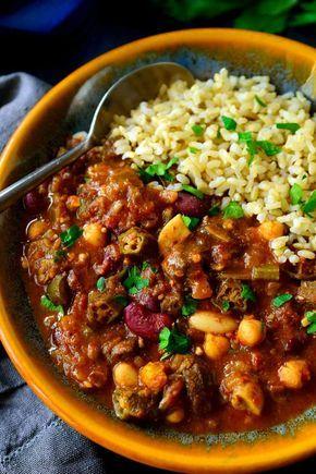 19 Vegan Soul Food Recipes For Down Home Comfort Vegetarian Comfort Food Vegan Soul Food Vegetarian Gumbo