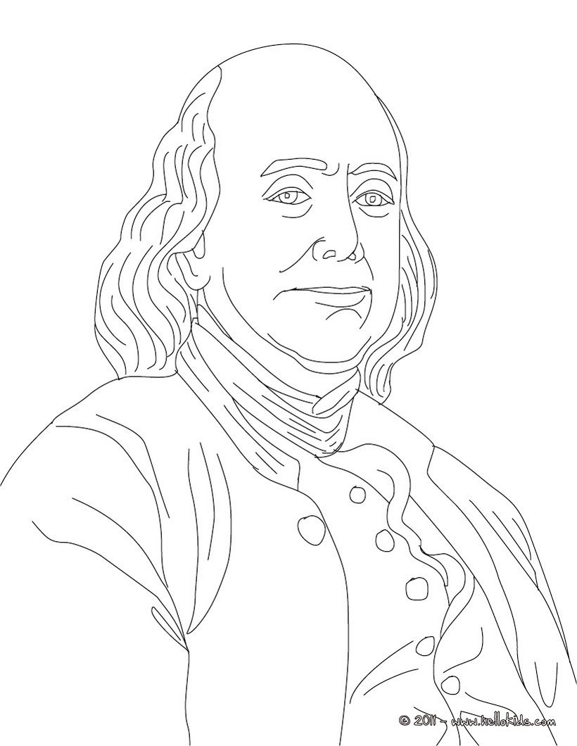 ben franklin coloring pages free coloring pages download xsibe