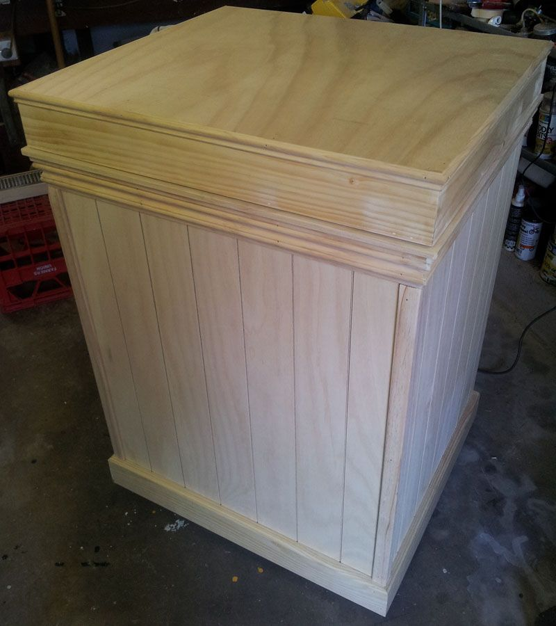 Chest Freezer Cover Chest Freezer Diy Furniture Woodworking Inspiration