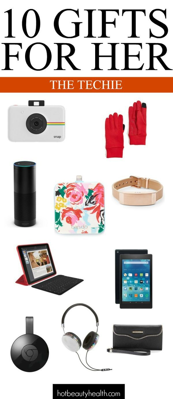 Holiday Gifts: 10 Stylishly-Chic Tech Gadgets | Easy gifts, Aunt ...