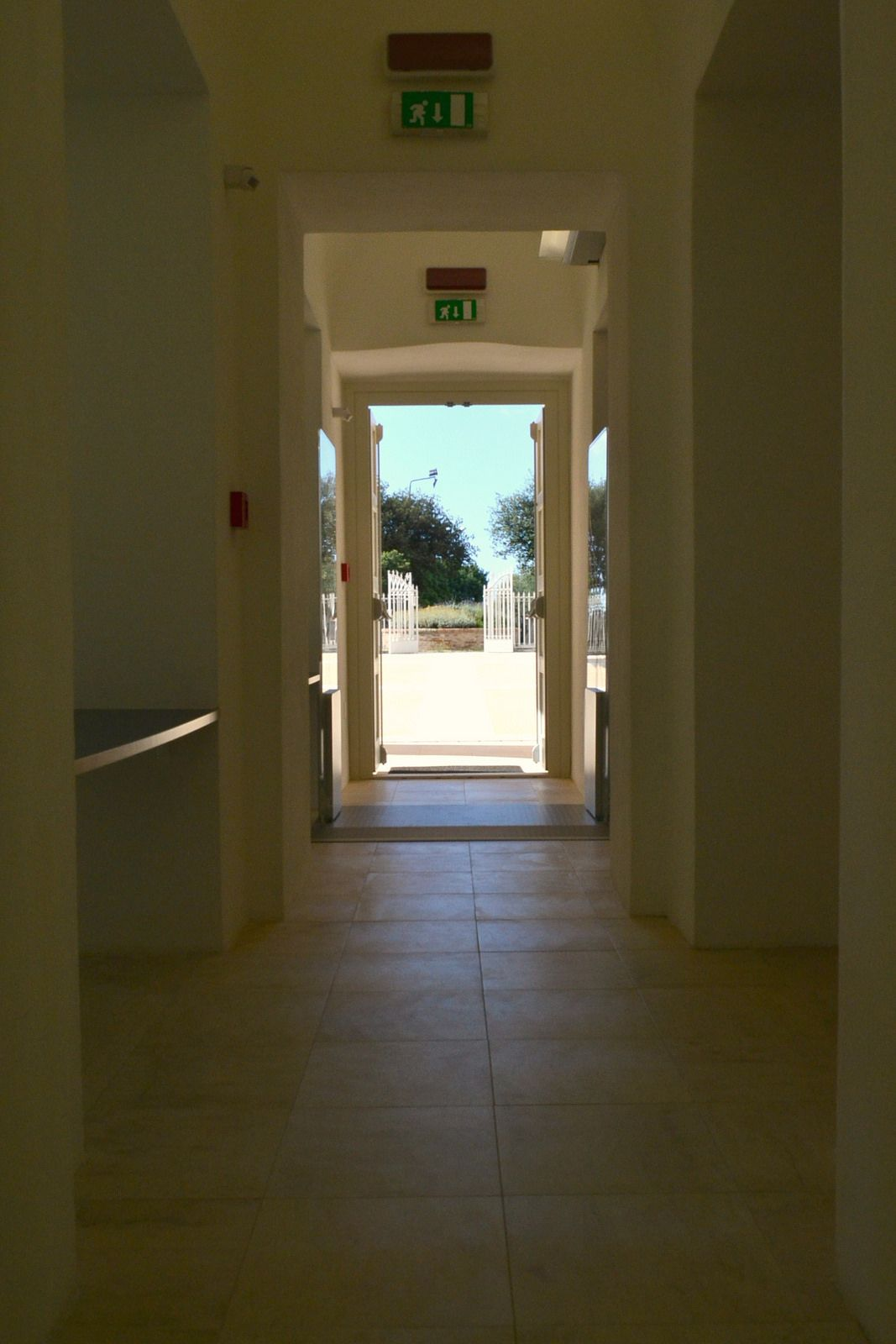 Biblioteca Provinciale Emilio Lussu - Ingresso
