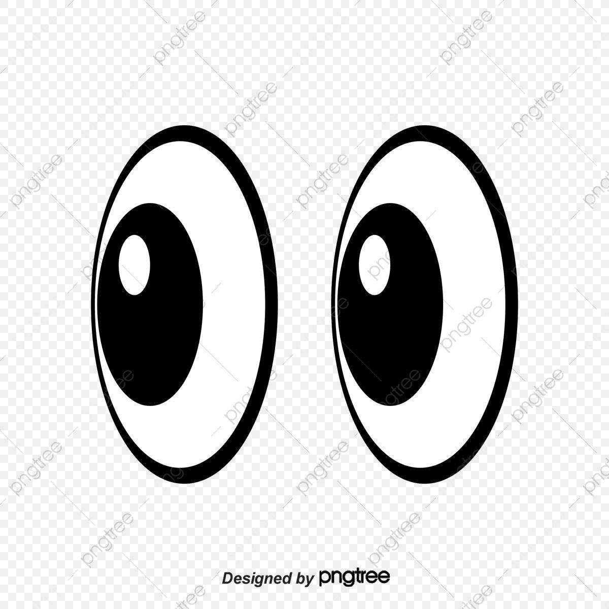 الكرتون العيون رسوم متحركة عيون العيون كرتون Png وملف Psd للتحميل مجانا Yeux De Bande Dessinee Clipart Art Drole