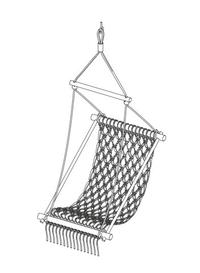 DIY Macrame Hanging Chair   Yes Please.