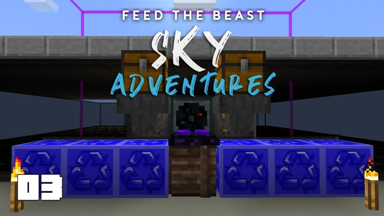 FTB Sky Adventures EP3 Mob Farm Upgrades | SystemCollapse