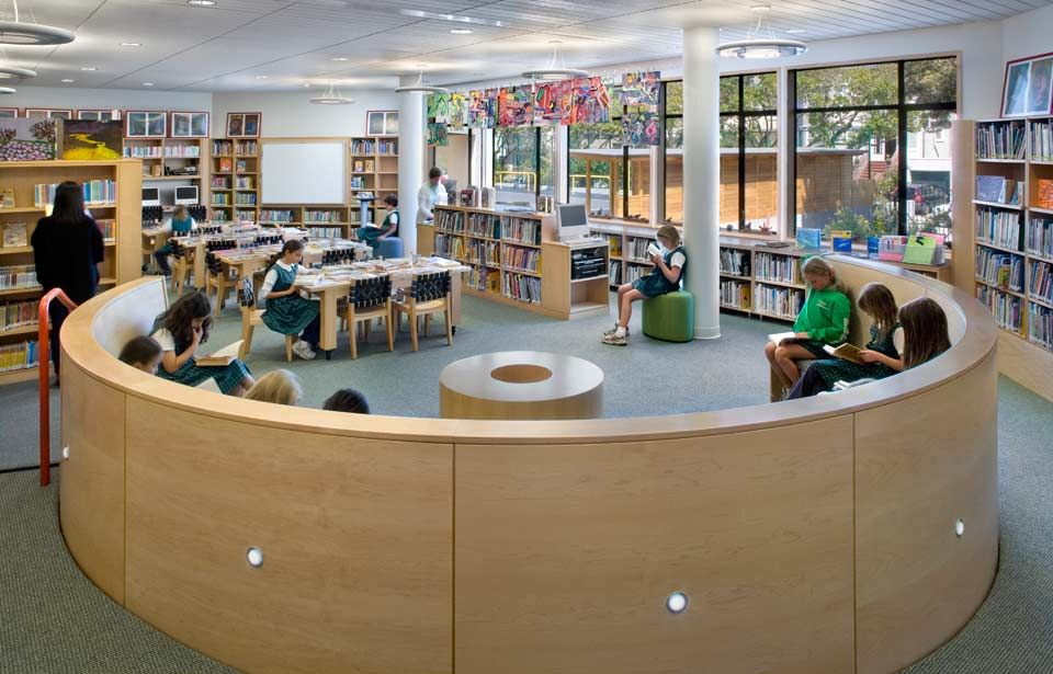 Katherine Delmar Burke School Library Turnbull Griffin