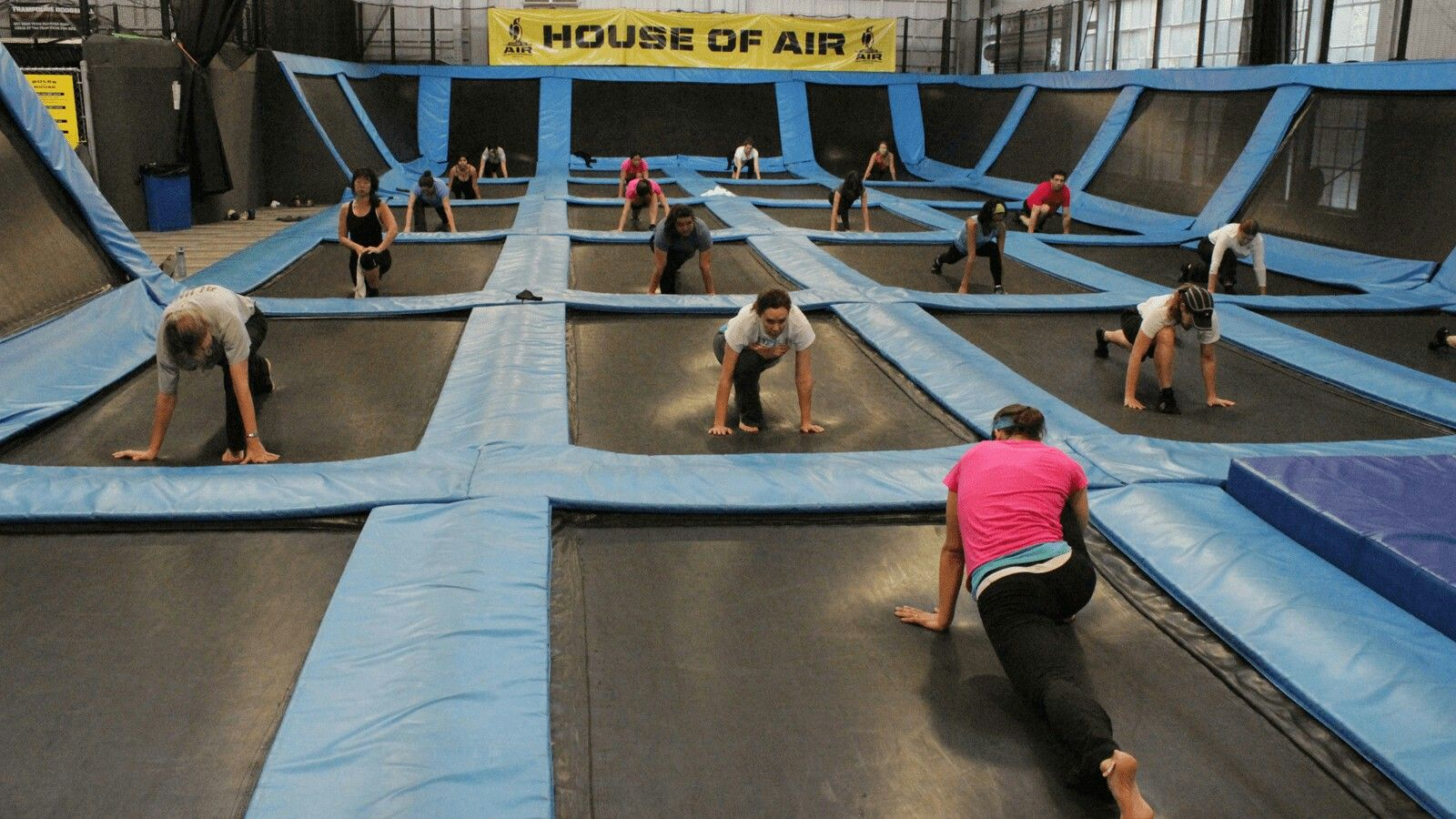 San Francisco House Of Air Trampoline Park Trampoline Park Trampoline Park Birthday Party Birthday Party At Park