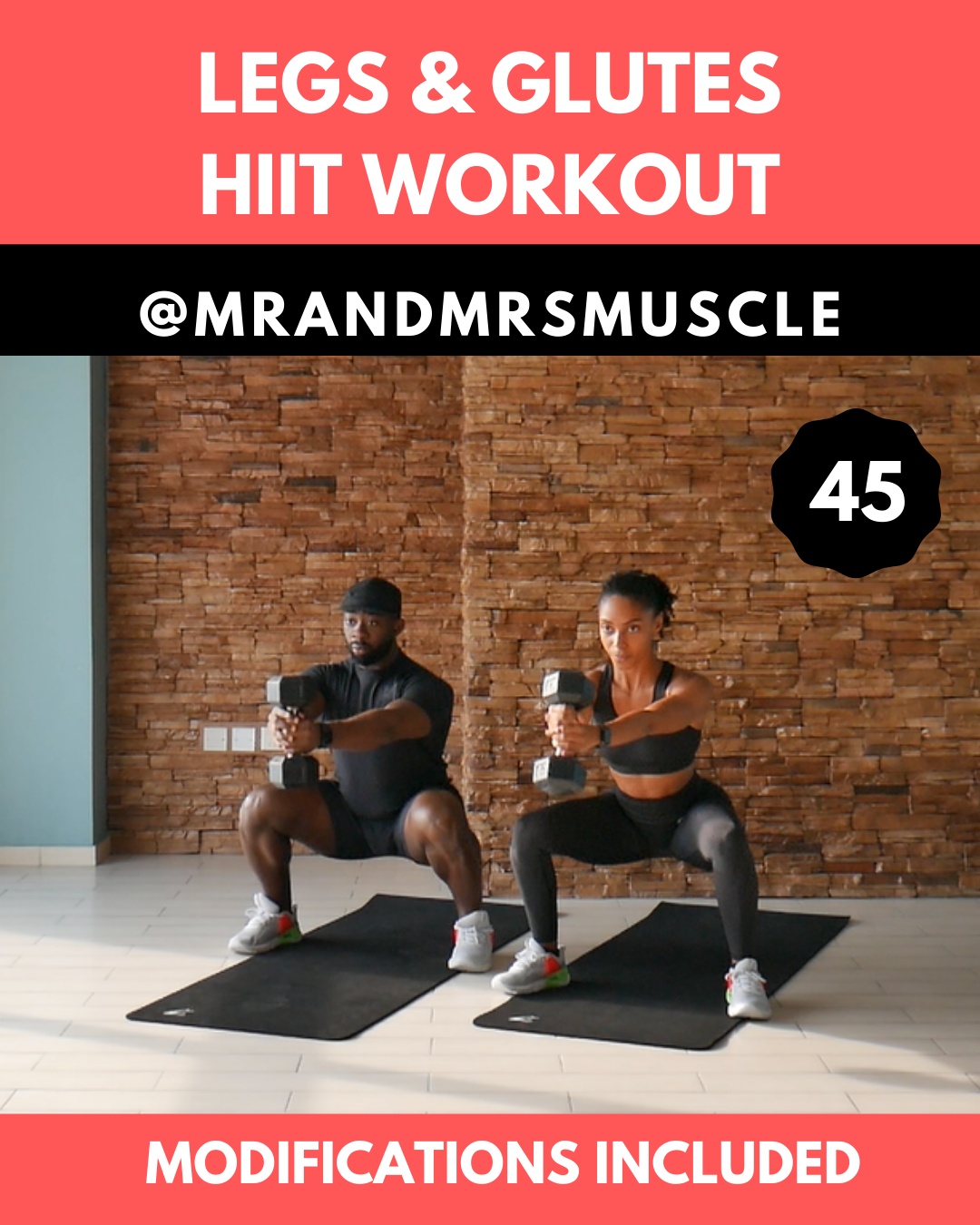 Fun Legs & Glutes HIIT Workout