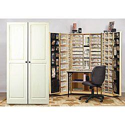 Great Storage Idea For All My Art Supplies Armoire Atelier Armoire Rangement Deco Garde Manger