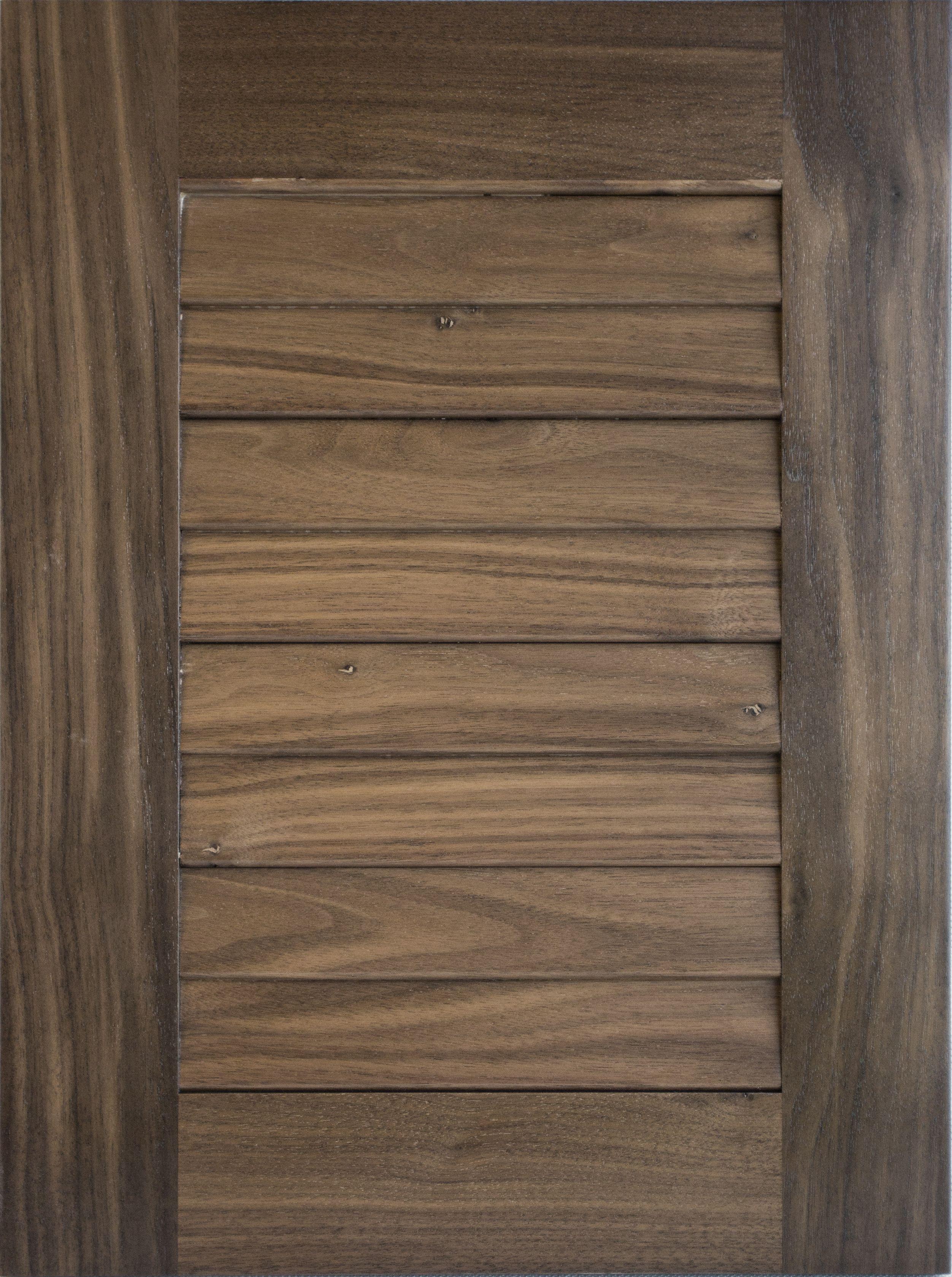 Prime New Custom Louvered Door In Black Walnut In Sesame Stain Download Free Architecture Designs Scobabritishbridgeorg