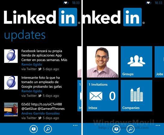 Aplicación oficial de LinkedIn para la red social laboral