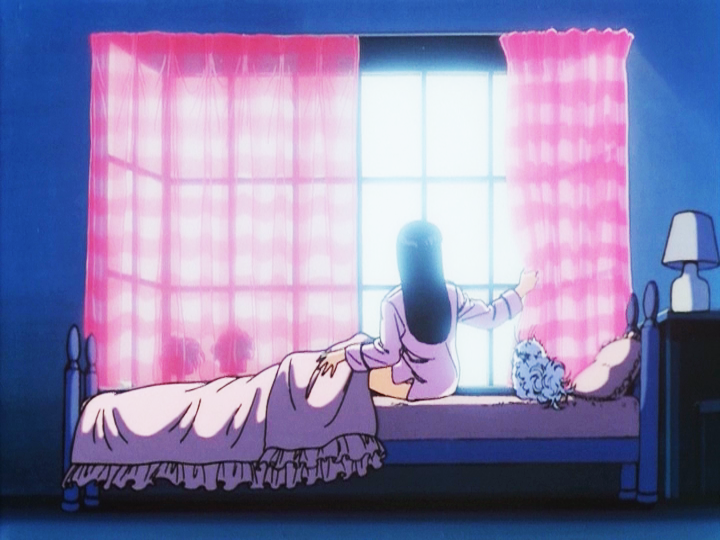80's anime girl bedroom.
