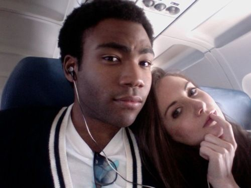 Donald Glover and Alison Brie. #SaveCommunity