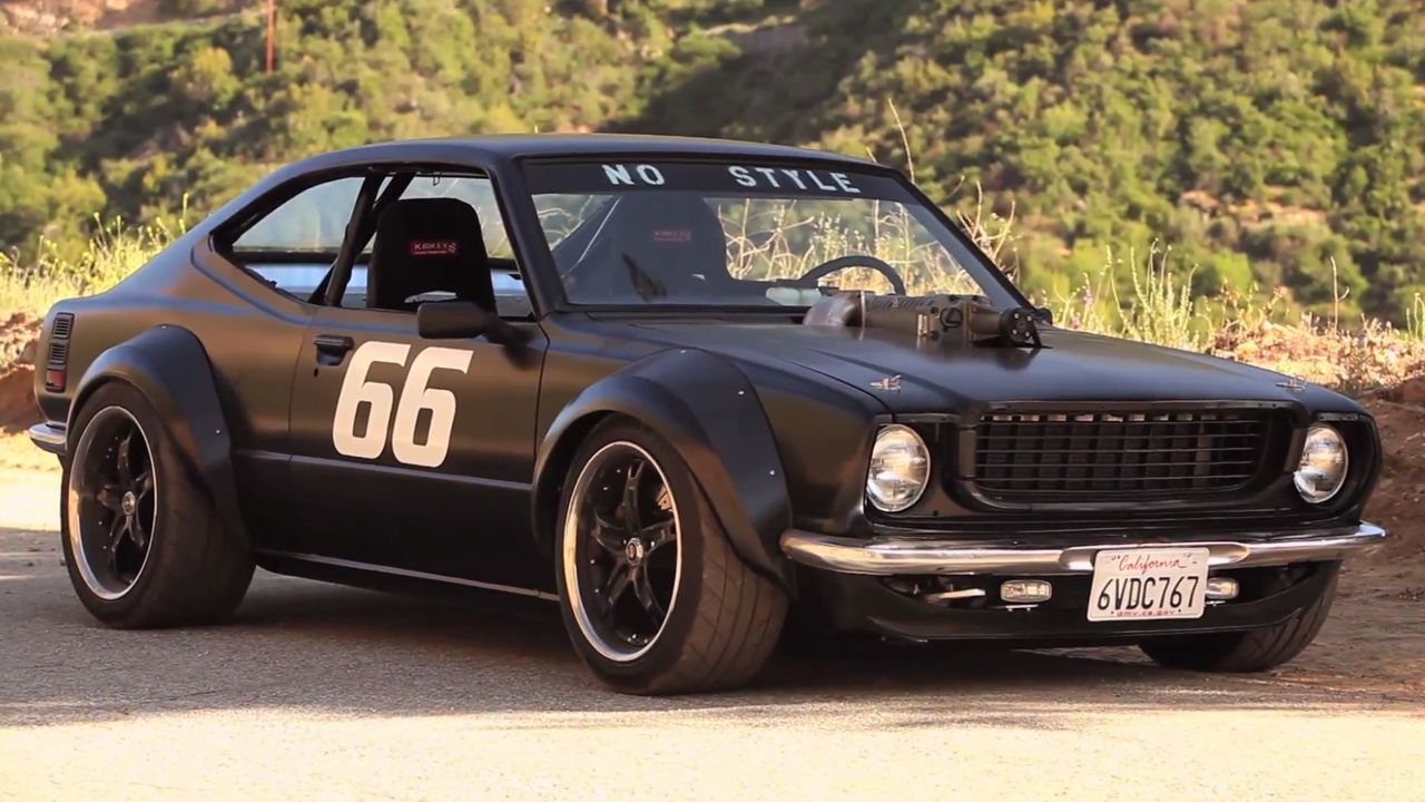 One man, one canyon road, one garage-built Corolla | Toyota, Cars ...