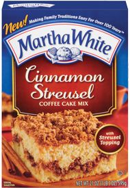 $0.55 off ANY Martha White Coffee Cake Mix Coupon on http://hunt4freebies.com/coupons