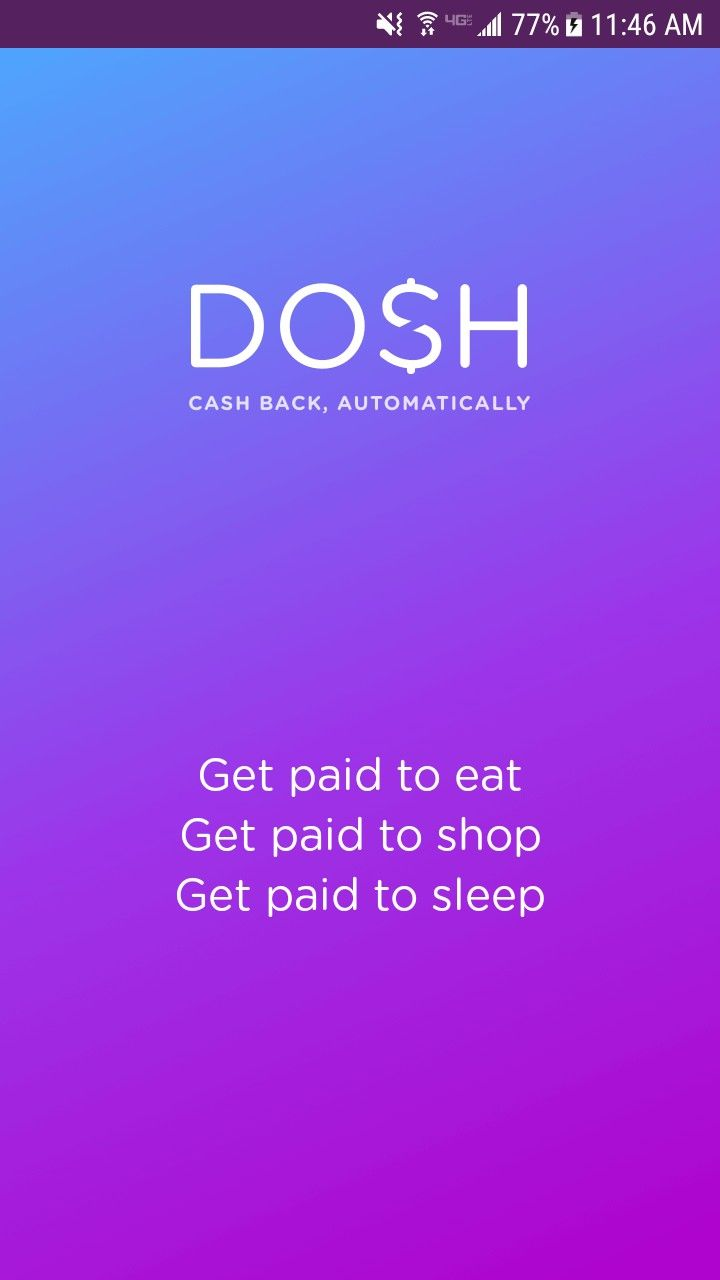 Guys, this cash back app GIVES YOU MONEY for the things ...