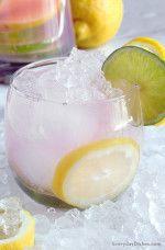 Easy Pink Lemonade Vodka Punch Recipe #vodkapunch