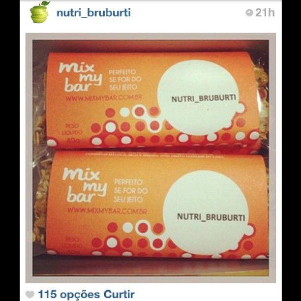 No IG da @nutri_bruburti muitas dicas nutri gostosas! #mixmybar #natural #Padgram