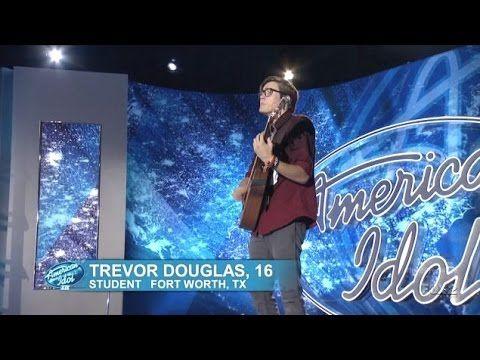 Trevor Douglas - Audition - American Idol 2015 #Idol #AmericanIdol #AmericanIdol2015 #Trevor #TrevorDouglas
