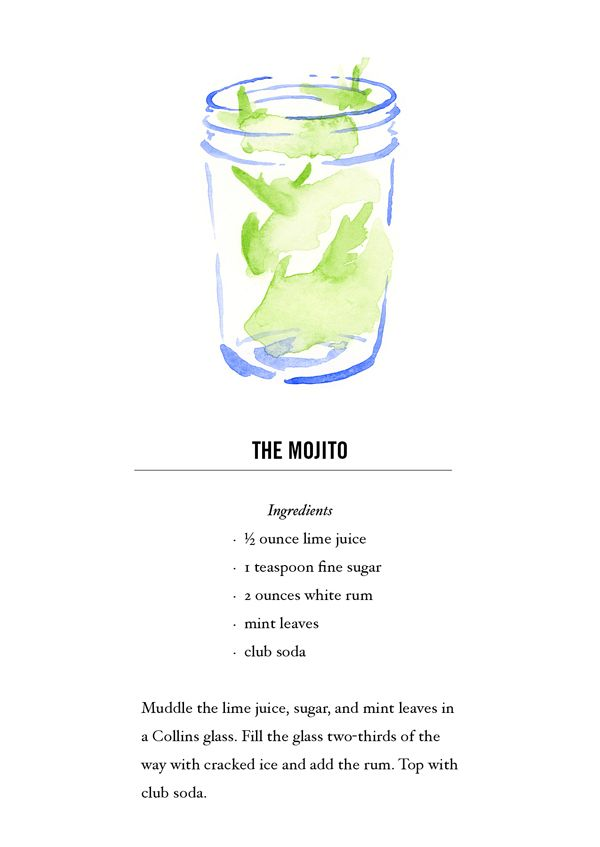 how to make mojito drink