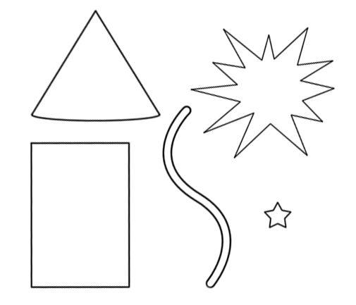 Paper Piecing Patterns Free Printables Firework Paper Piecing