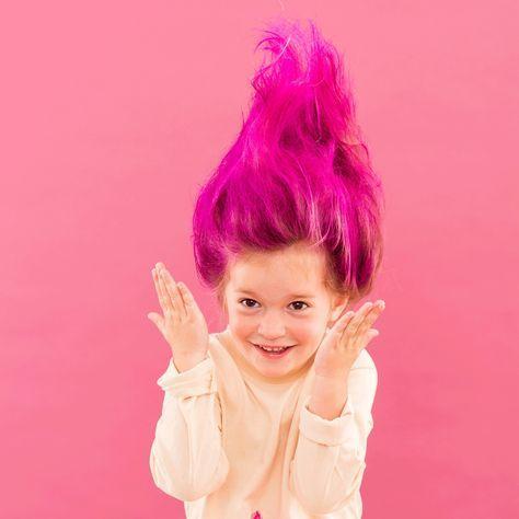 How to Create Troll Hair for Halloween nerd stuff Pinterest - halloween costume ideas 2016 kids