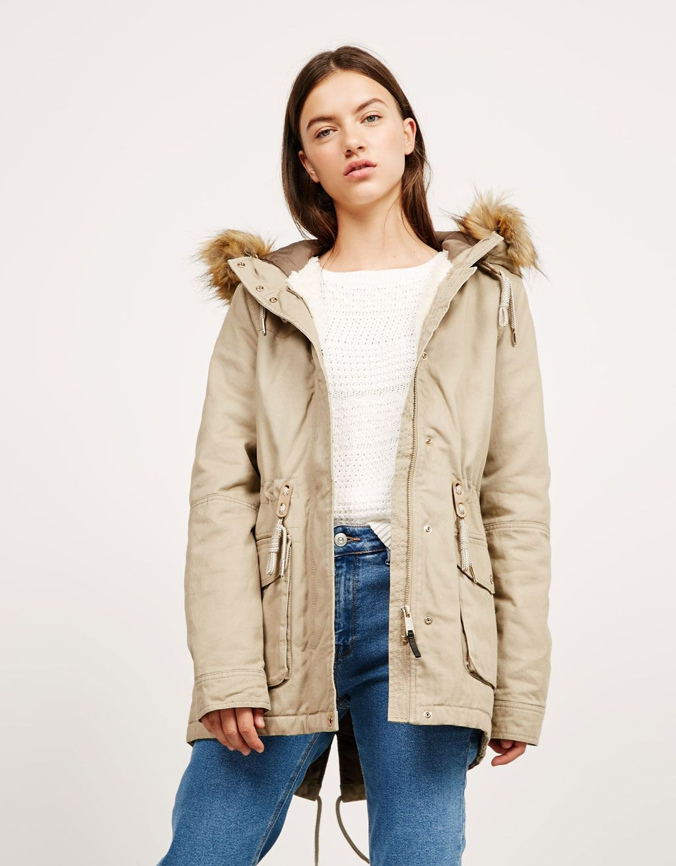 Bershka jacke mantel