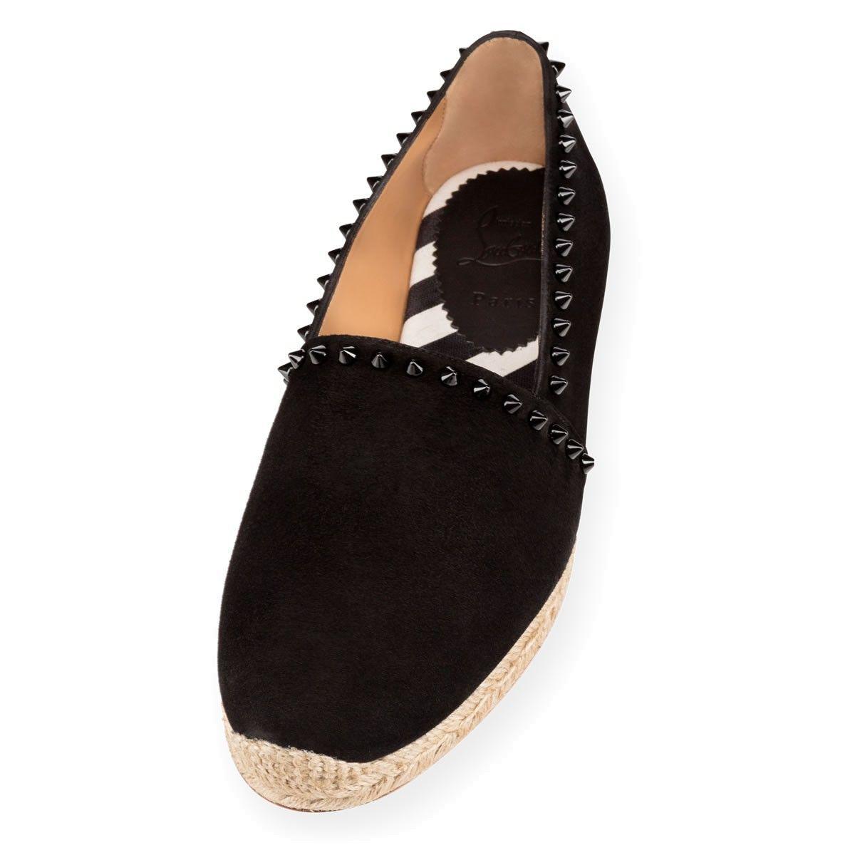 e343e0c4b68 Men Shoes - Melides Casa Flat Suede - Christian Louboutin | MEN'S ...